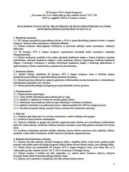 http://ofs.lt/wp-content/uploads/2017/09/III-Europos-OFS-ir-Jaupra-kongreso-2018-himno-konkurso-nuostatai.pdf