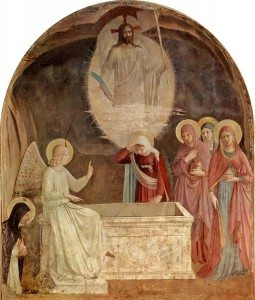 Resurrection of Christ and Women at the Tomb by Fra Angelico 1441